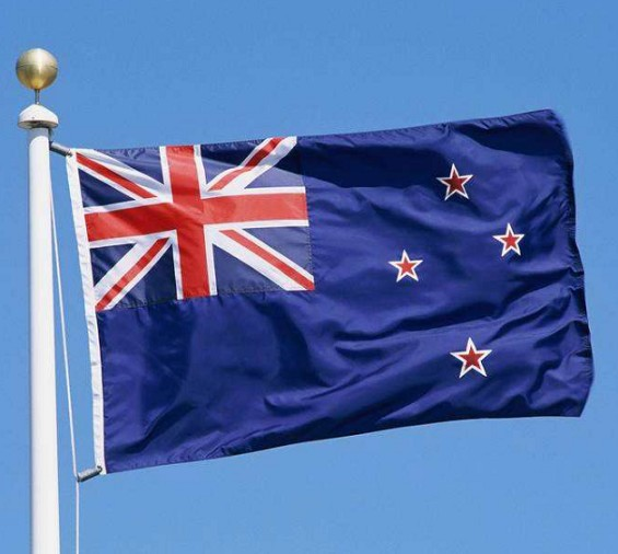 Hanging New Zealand national Flag all size Country Custom Flag