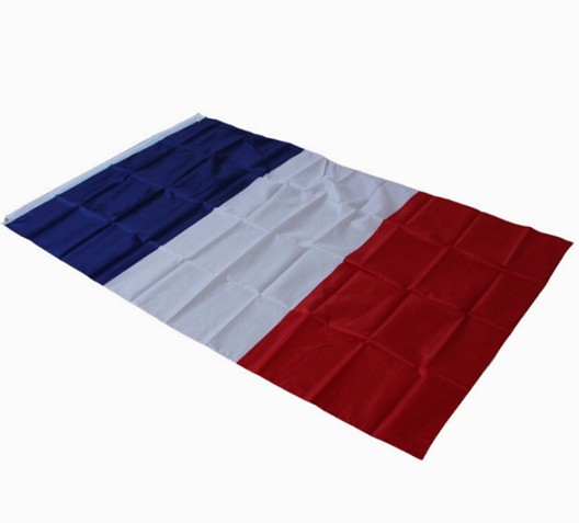 High quality polyester France national flag wholesale