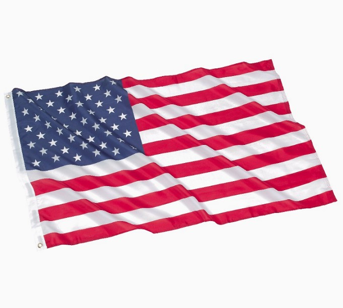 High Quality Knitted Polyester American Country flag USA flag