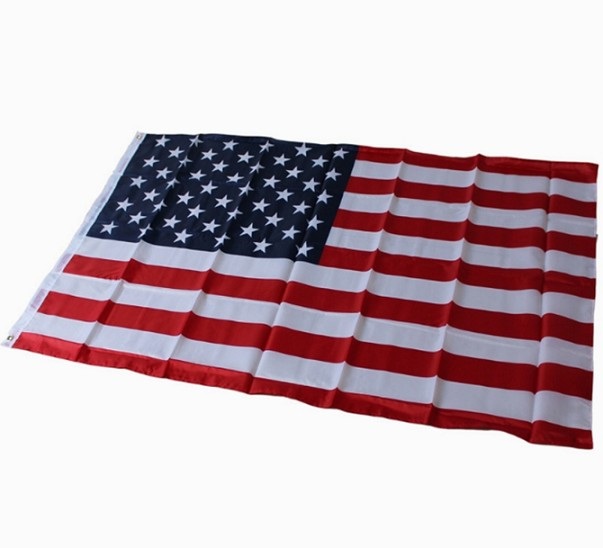 Knitted Polyester American flag USA flag For Sale
